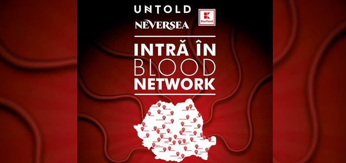 În weekend, poți dona sânge pentru un bilet GRATUIT la Neversea sau Untold
