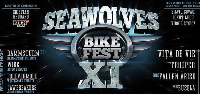 Începe Seawolves Bike Fest XI. Concerte, concursuri, parada de motociclete și multă bere!