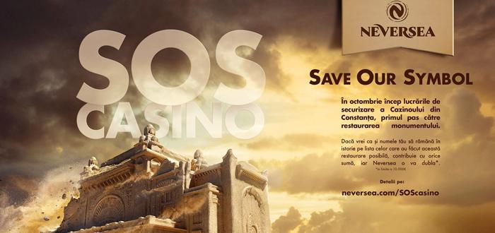 Neversea a lansat campania SOS CAZINO. Puteți dona pentru a ajuta la restaurarea Cazinoului
