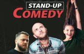 Stand-up comedy cu Bordea, Nelu Cortea & Teodora Nedelcu, la Casa de Cultură