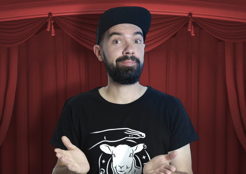 Stand-up comedy cu TEO, la Harlequin Mamaia