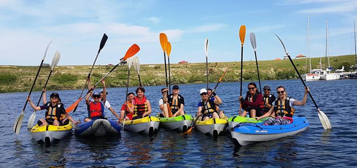 Duminică ești așteptat la o tură cu caiacul pe lacul Limanu, cu Dream Explorer