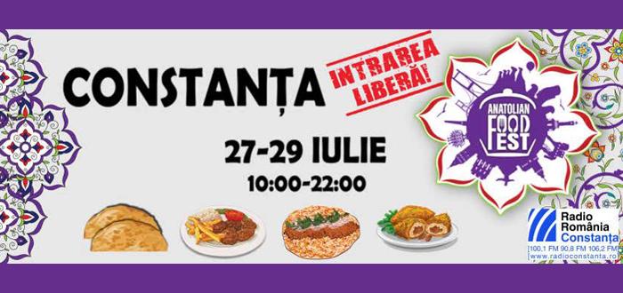 Festival culinar turcesc, la Pavilionul Expozițional din Mamaia
