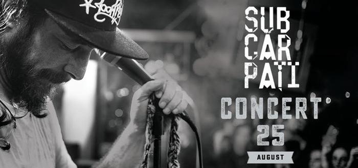 Concert SUBCARPAȚI, pe plaja 3 Papuci, la Zoom Beach
