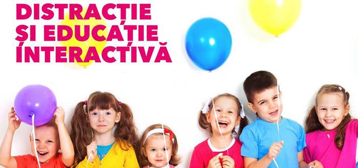 Distracție și educație interactivă pentru copii, la Vivo! Constanța