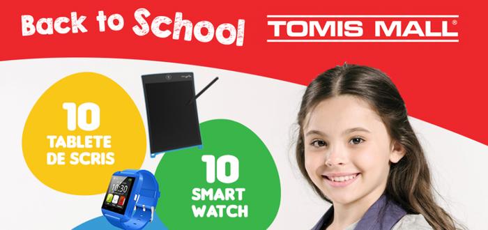 Back to School la Tomis Mall. Toamna se numără premiile!