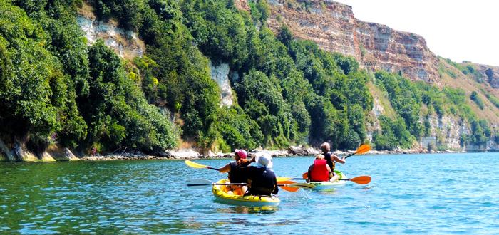 O zi cu caiacul la Cap Kaliakra, sâmbătă, cu Dream Explorer