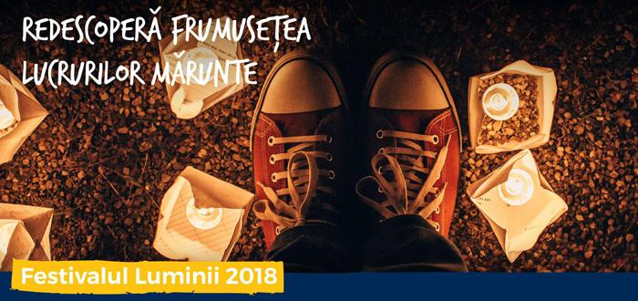 Festivalul Luminii, la Constanța. Vino să redescoperim frumusețea lucrurilor mărunte!