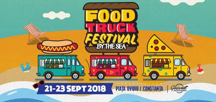 Caravana Food Truck Festival revine la Constanța. Concerte și street food în Piața Ovidu!