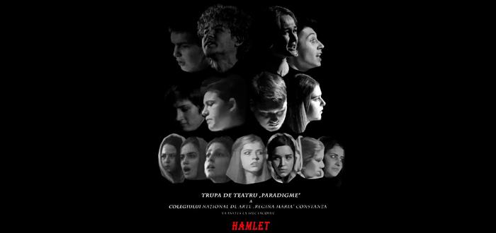 """HAMLET, piesă pusă în scenă de elevii Colegiului Național de Arte """"Regina Maria"""""""