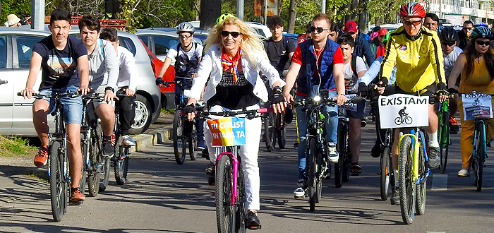 Marsul Bicicliștilor la Constanța – Vrem un oraș pentru oameni