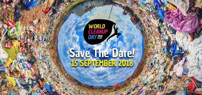 Ziua Mondială a Curățeniei. Haideți să facem curat în toată țara, în paralel cu milioane de voluntari în toată lumea!
