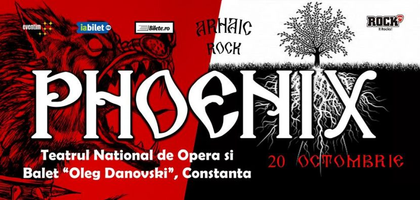 Concert cu legendara trupă PHOENIX la TNOB