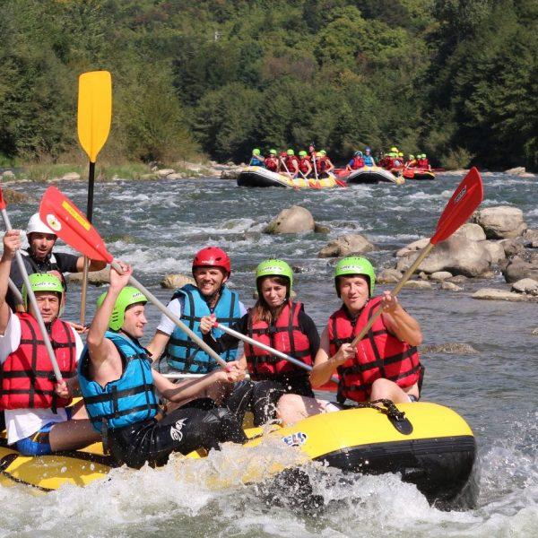 A început sezonul de rafting! Două weekenduri la alegere cu Dream Explorer