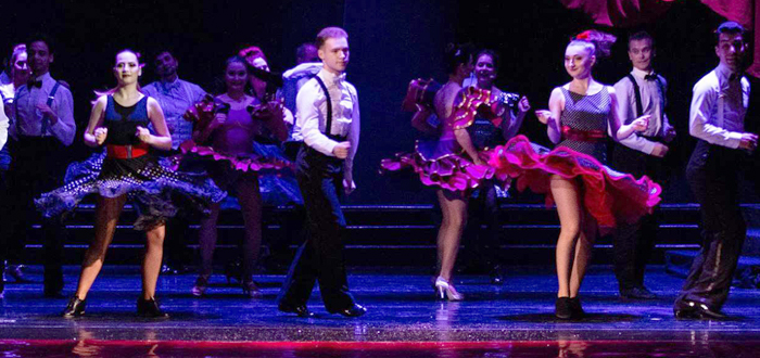 "MAGIC SWING, un show unic pe scena TNOB ""Oleg Danovski"""