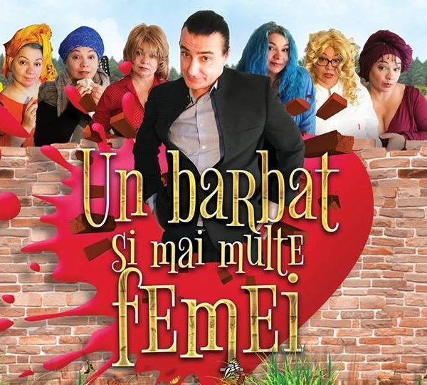"""De DRAGOBETE: Comedia romantică """"Un bărbat și mai multe femei"""" la Harlequin"""
