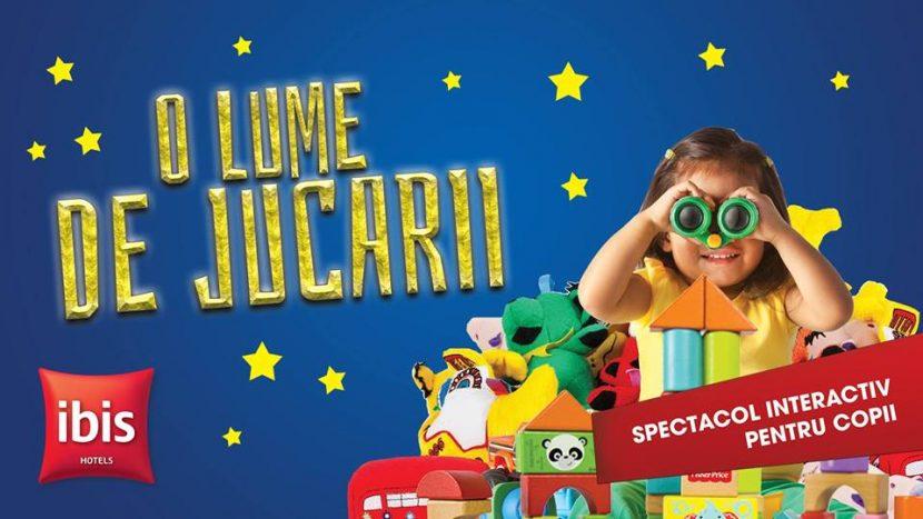 """Spectacol interactiv pentru copii: """"O lume de jucării"""" cu Trupa  SUFLEȚEL"""