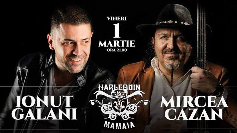 Ionuț Galani și Mircea Cazan la Harlequin Mamaia