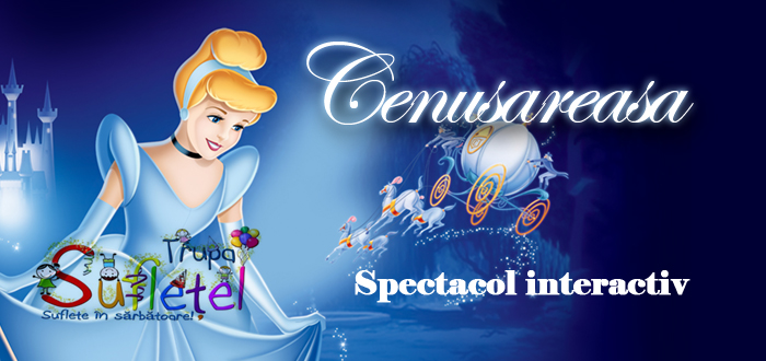 "Spectacol interactiv ""Cenușăreasa"" la Hotel IBIS, cu TRUPA SUFLETEL"