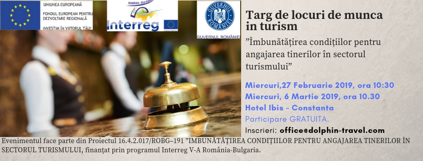 Târg de locuri de muncă în turism la Hotel IBIS Constanța