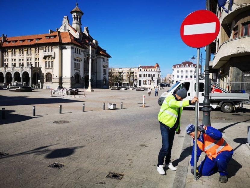 Zona peninsulară devine pietonală! Constănțenii pot obține permis de acces pentru autovehicule.