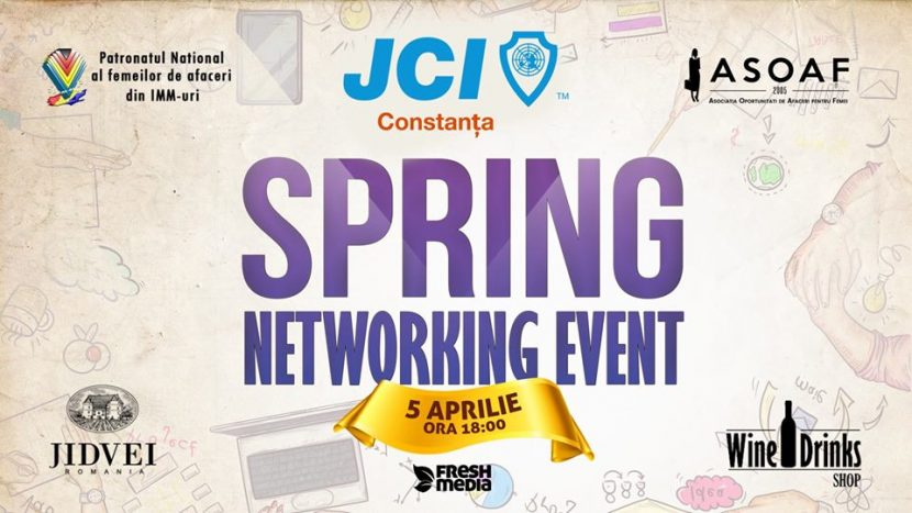 """Spring Networking Event – Secretele Succesului în Business"" organizat de JCI Constanța"