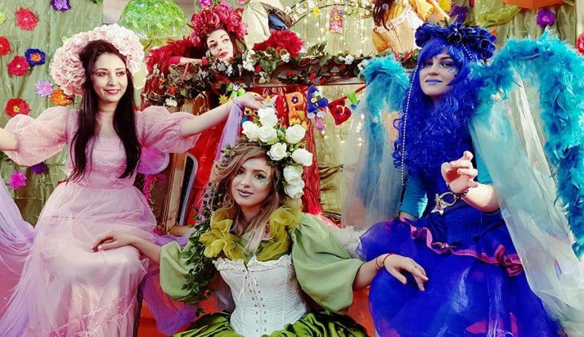 """Spectacol interactiv """"Zâne, flori, iepurași și copii drăgălași"""" la Hotel IBIS cu Trupa Suflețel"""