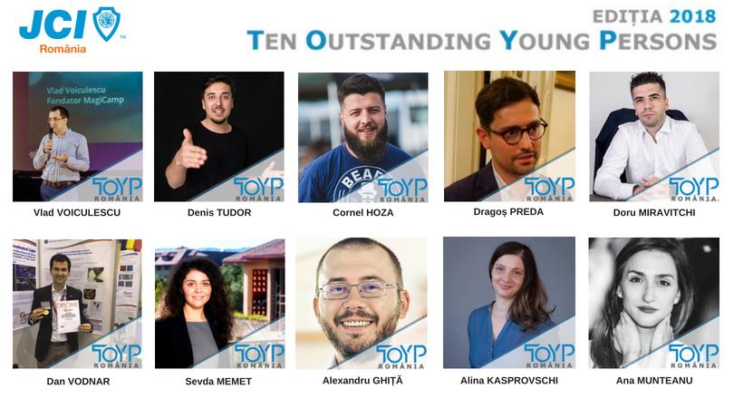 Începe selecția candidaților pentru a 4-a ediție TOYP România, program național și internațional organizat de JCI