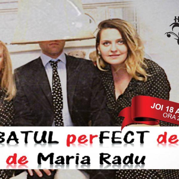 """Comedia """"Bărbatul perfect defect"""" (în premieră la Constanța)"""