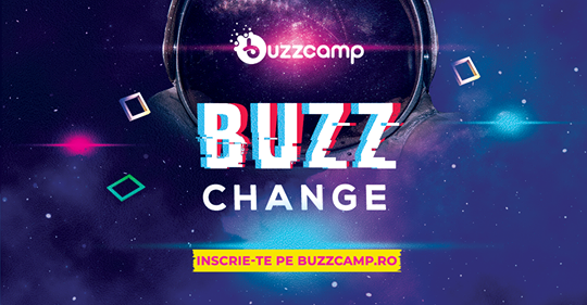 BuzzCamp este acum BuzzChange, evenimentul de dezvoltare personală și orientare în carieră dedicat tinerilor revine la Constanța