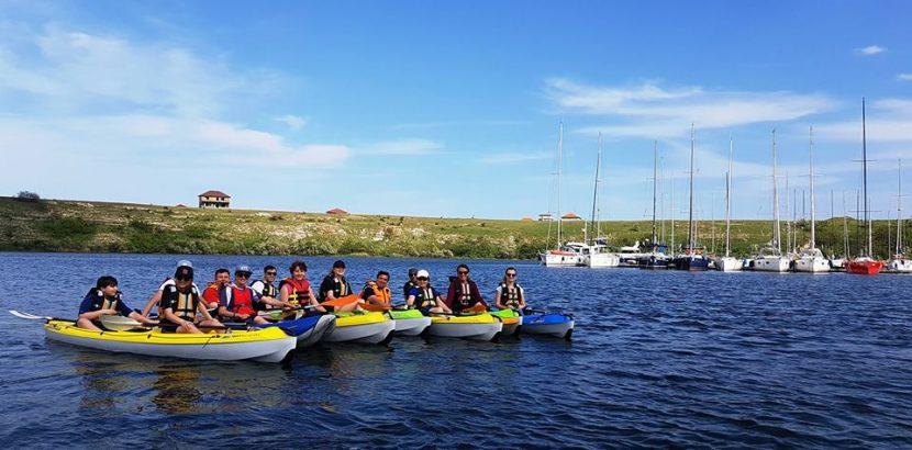 Hai în weekend la o tură în natură cu caiacul pe Lacul Limanu (Mangalia) cu Dream Explorer