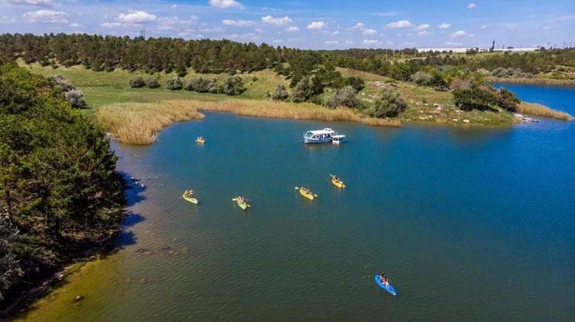 Tură caiace Lac Limanu cu Dream Explorer