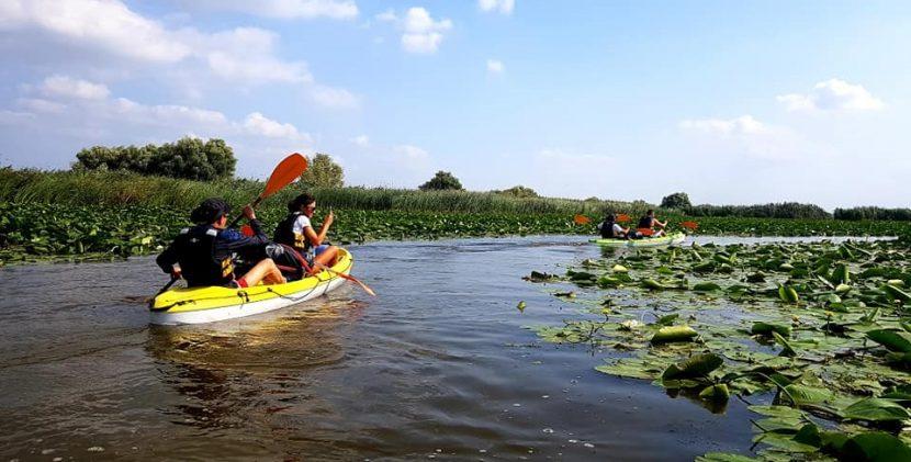 O zi cu caiacul în Delta Dunării: Tulcea-Somova, cu Dream Explorer