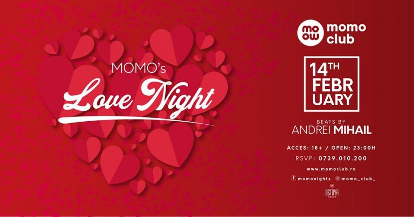 MOMO's Love Night de Valentine's Day