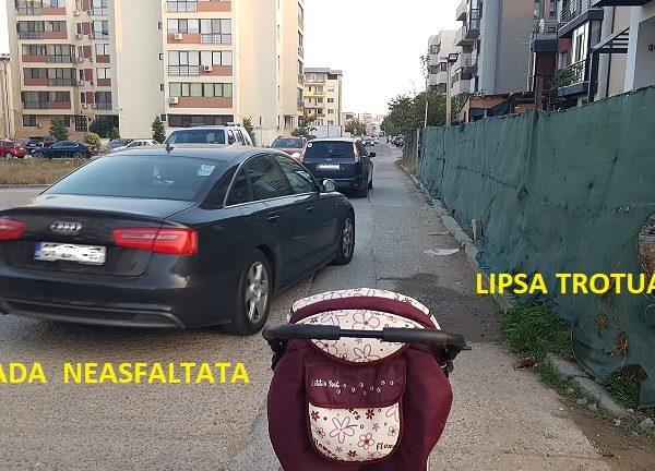 PETIŢIE! Locuitorii Tomis Plus vor străzi asfaltate, spații verzi, locuri, de joacă pentru copii și o grădiniță
